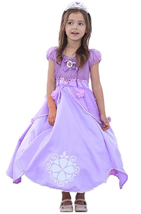 Burgfräulein Kostüm für Kinder - Prinzessinenkostüm Mädchen