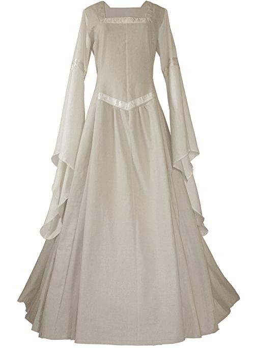 Mittelalter Hochzeitskleid Brautkleid