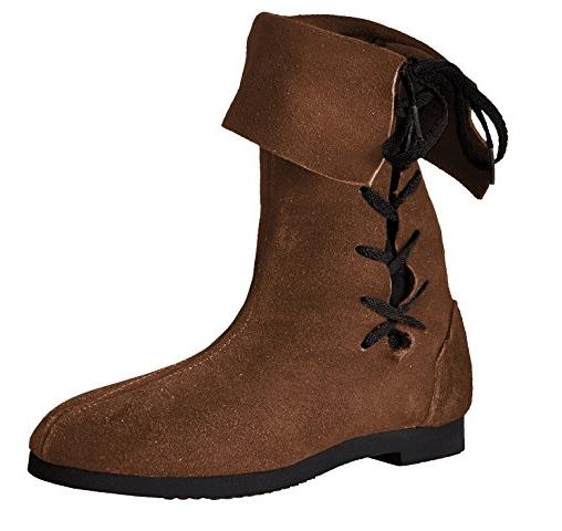 Mittelalter Schuhe LARP Stiefel