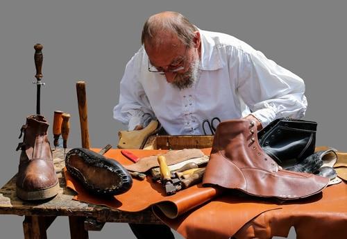 Schuhherstellung im Mittelalter